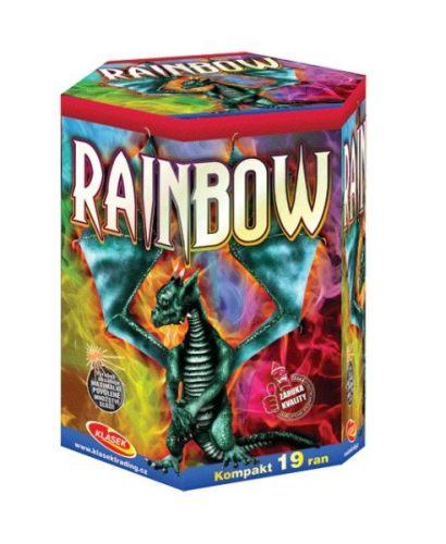 Tűzijáték, petárda telep - 30 mm Rainbow
