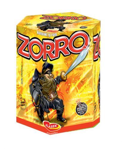 Tűzijáték, petárda telep - 30 mm Zorro