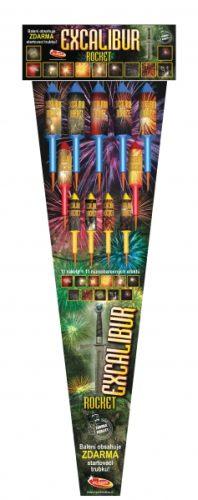 Tűzijáték rakéták a DinamitShoptól: Excalibur
