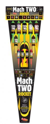 Tűzijáték rakéták a DinamitShoptól: Mach two