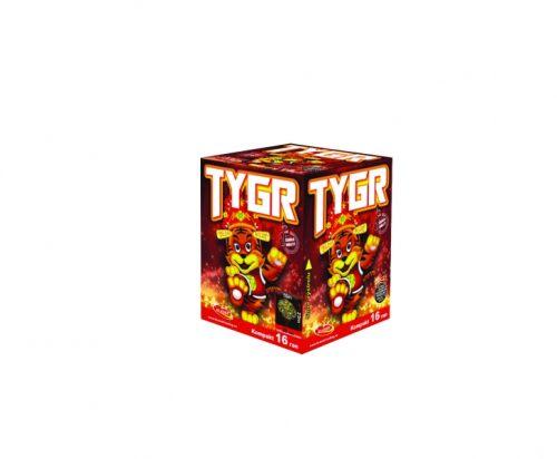 Tűzijáték telep - 20 mm a DinamitShoptól: Tygr