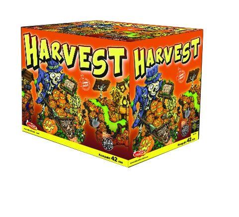 Tűzijáték, petárda telep - multikaliber Harvest