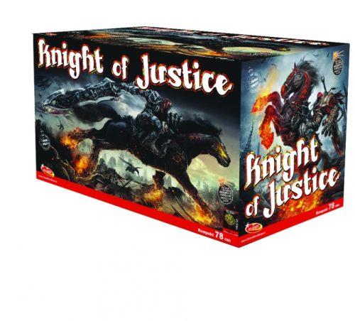 Tűzijáték, petárda telep - multikaliber Knight of Justice
