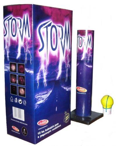 Tűzijáték, petárda golyóbombák Storm